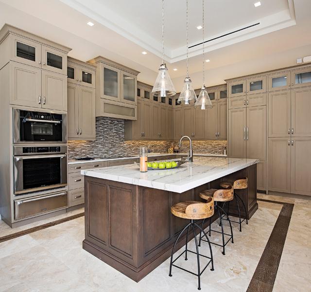 Custom Kitchen by KTS Homes