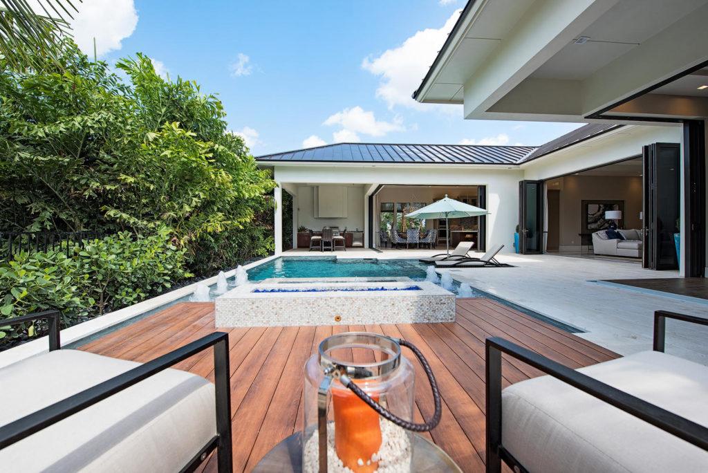 Naples Reserve Newport model home