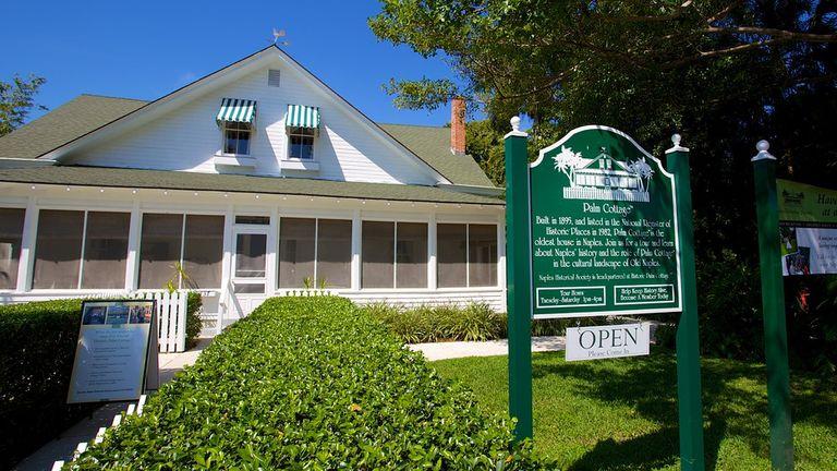 Historic Palm Cottage Naples FL