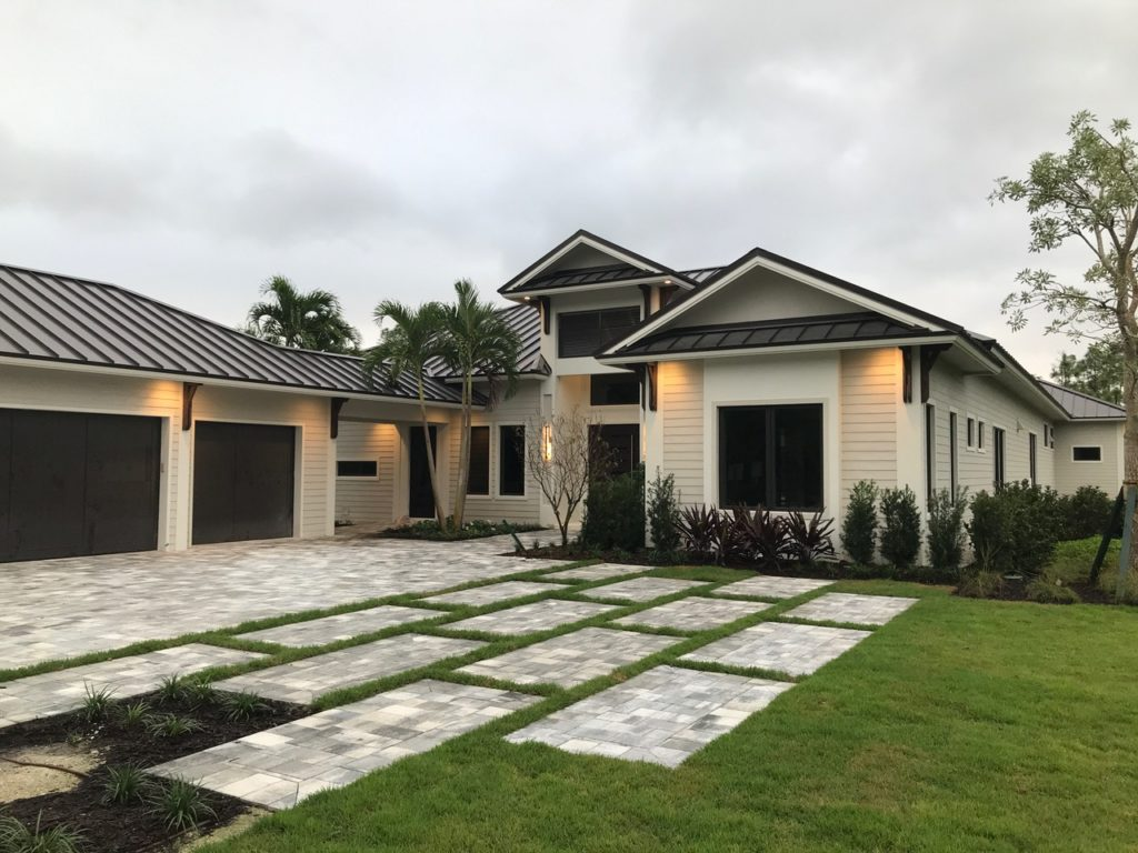 Newport model home in Naples Club Estates.