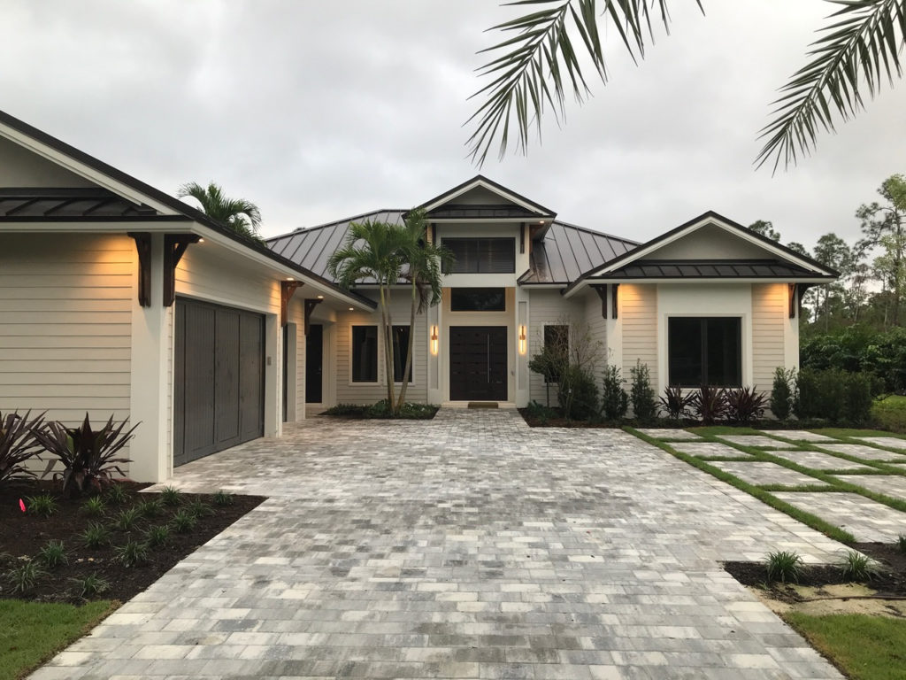 Newport model home at Naples Club Estates