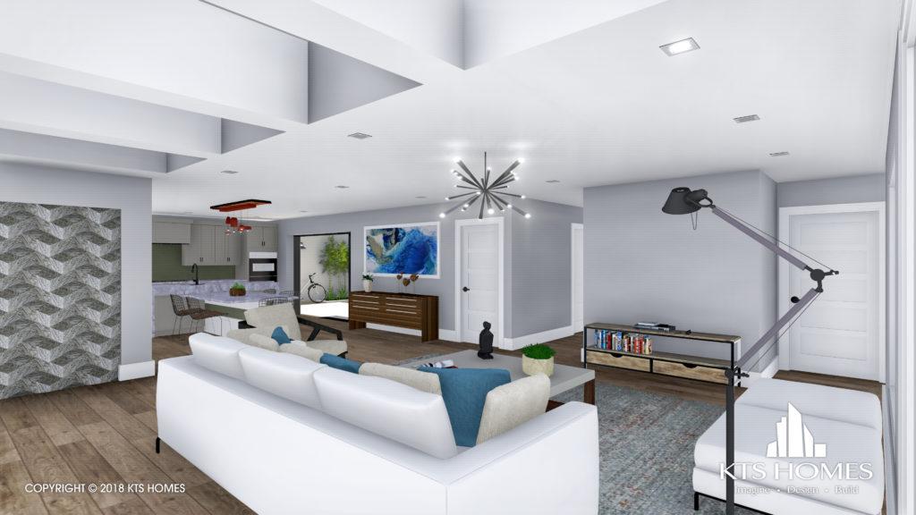 Seagate Villas living room